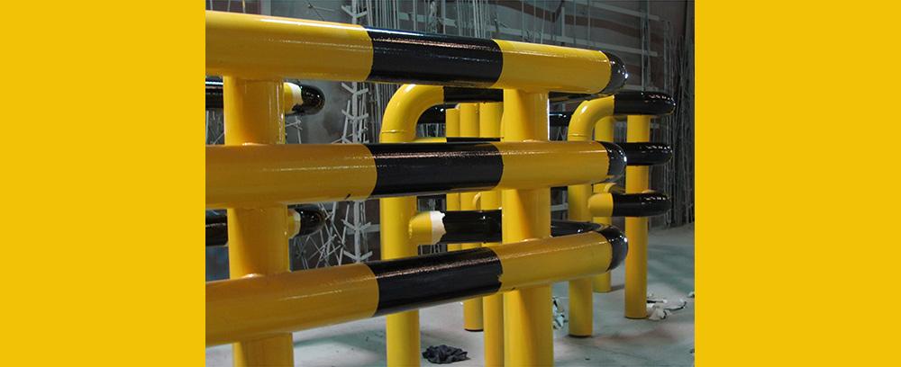 Structures industrielles de grandes dimensions