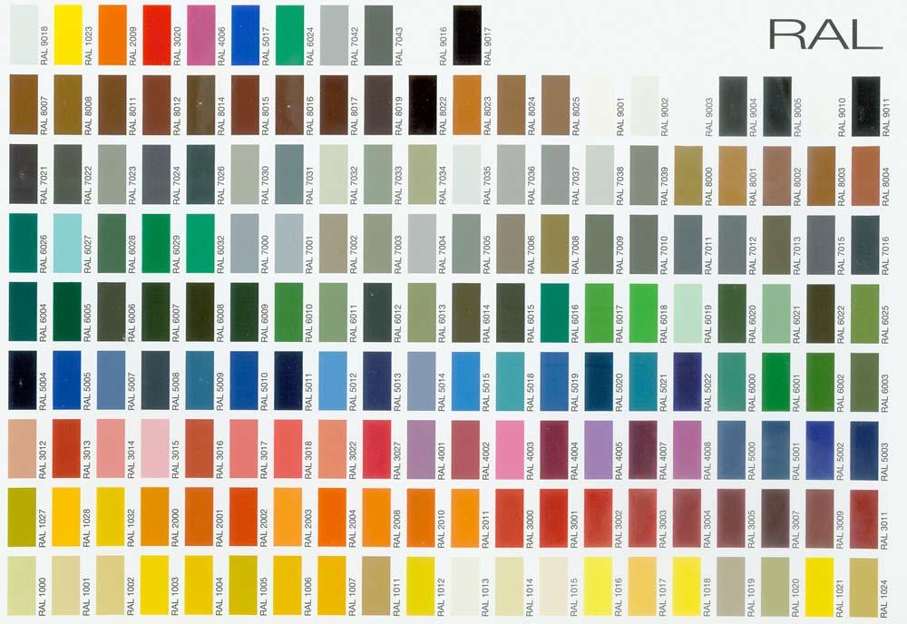 nous disposons dun stock important de poudres dans les coloris ral les plus courants nous mettons votre disposition des chantillons de revtements de - Coloris Ral